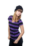 Beautiful Casual Teenager 1 Royalty Free Stock Images