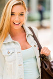 Beautiful casual woman Royalty Free Stock Photos