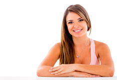 Beautiful casual woman Royalty Free Stock Image