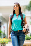 Beautiful casual woman Royalty Free Stock Photo