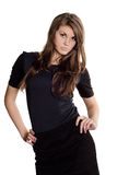 Beautiful casual young woman Royalty Free Stock Images