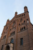 The beautiful cathedral of cremona Royalty Free Stock Photography