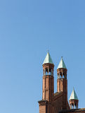 The beautiful cathedral of cremona Royalty Free Stock Photos