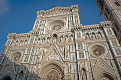 The Beautiful Cathedral Of Florence. In Italy Royalty Free Stock Photos