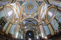 Beautiful Cathedral interior Stock Images