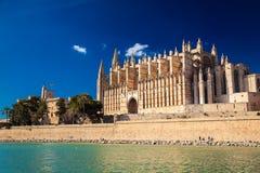 Beautiful Cathedral La Seu Stock Photo