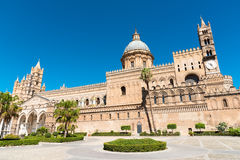 The beautiful cathedral of Palermo Royalty Free Stock Images