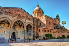 The beautiful cathedral of Palermo, Sicily Royalty Free Stock Photography