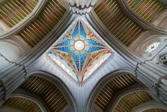 Beautiful cathedral roof Royalty Free Stock Photography