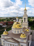 Beautiful Cathedral in Russia Stock Image