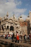 Beautiful cathedral San Marco Stock Photography