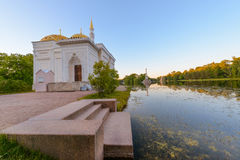 Beautiful Catherine Park. Russia. Pushkin Stock Photography
