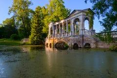 Beautiful Catherine Park. Russia. Pushkin Royalty Free Stock Photography