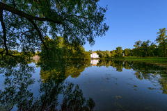 Beautiful Catherine Park. Russia. Pushkin Stock Photos