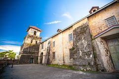 Beautiful Catholic Church in an exotic country outdoor Stock Photography