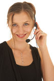 Beautiful Caucasian businesswoman Stock Image