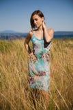 Beautiful caucasian girl royalty free stock photos