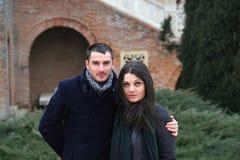 Hugging Couple Royalty Free Stock Image