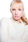 Beautiful caucasian winter woman Royalty Free Stock Photo