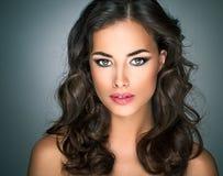 Beautiful Caucasian Woman Stock Images