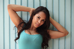 Beautiful Caucasian woman Royalty Free Stock Image
