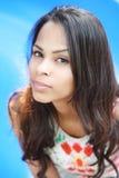 Beautiful Caucasian woman Royalty Free Stock Images