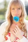 Beautiful Caucasian woman outdoor Royalty Free Stock Photo