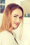 Beautiful caucasian woman. Royalty Free Stock Image