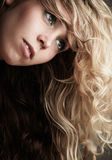 Beautiful Caucasian woman Royalty Free Stock Photography