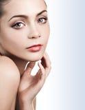 Beautiful caucasian young woman Stock Photography
