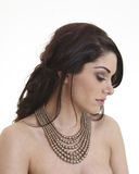 Beautiful Caucasion Female model royalty free stock photography