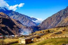 Beautiful Caucasus Mountains,Georgia Stock Image