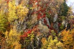 Beautiful Caucasus mountains stock images