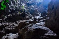 Beautiful Cave in Ha Long Bay / Vietnam royalty free stock photos