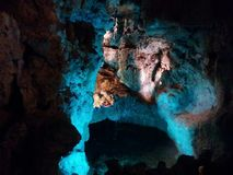 Beautiful cavern to discover Royalty Free Stock Image