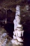 Beautiful caves in Moravian Karst Stock Image