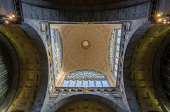 Beautiful Ceiling of Antwerp Central Station Royalty Free Stock Photos