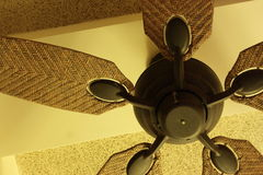 A beautiful ceiling fan Stock Photos