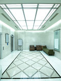 Beautiful ceiling and floor Stock Image