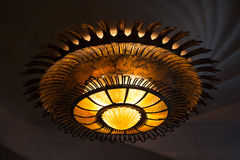 Beautiful ceiling lamp Stock Images
