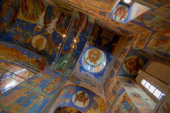 Beautiful ceiling of a Orthodox Church Royalty Free Stock Photography