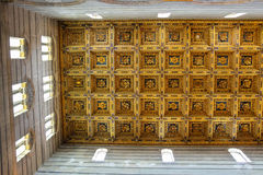 Beautiful ceiling of the Pisa Cathedral (Duomo di Pisa) Royalty Free Stock Image