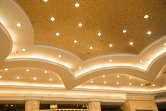 Beautiful Ceiling of a Public Hall Royalty Free Stock Photo