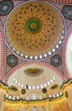 Ceiling of Suleimaniye Mosque in Istanbul Stock Photo