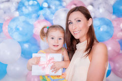 Surprise mothers day Royalty Free Stock Image