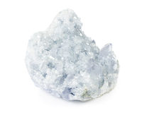 Beautiful celestite druse close-up Royalty Free Stock Photo