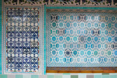 Beautiful ceramic tiles Stock Photos
