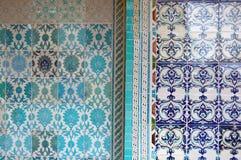 Beautiful ceramic tiles Royalty Free Stock Photos