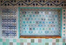 Beautiful ceramic tiles Stock Images