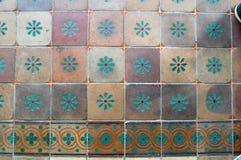 Beautiful ceramic tiles Stock Photo